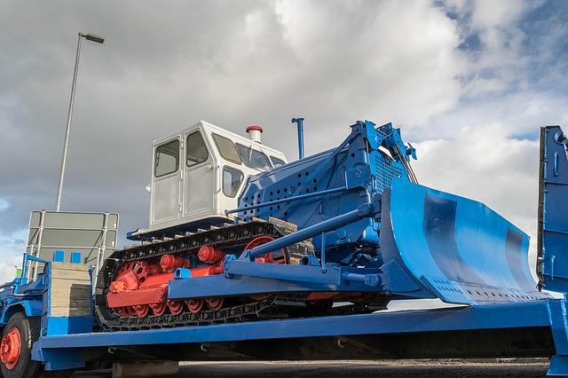 Transport maszyny budowlanej