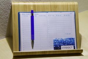 kalendarz firmowy z długopisem reklamowym