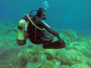 nurkowanie w ramach kursu PADI
