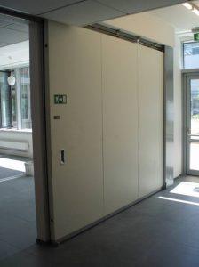 Aluminiowe drzwi przeciwpożarowe