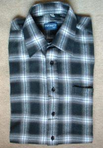 Robocze koszule flanelowe