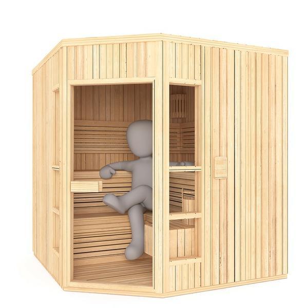 sauny parowe domowe