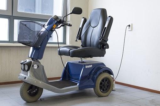 skutery elektryczne inwalidzkie z koszykiem